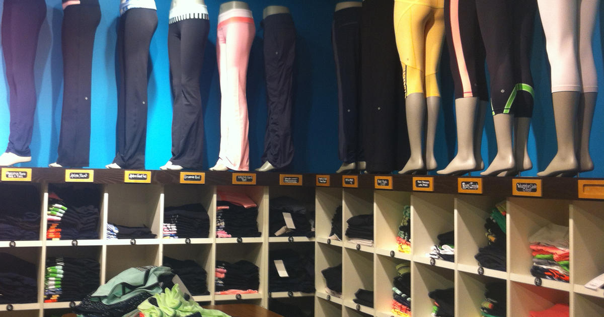 Lululemon Pulls Quot Too Revealing Quot Yoga Pants Cbs News