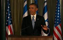 """Obama: Not """"a lot of daylight"""" between U.S. and Israel on Iran"""