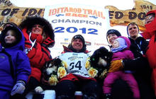 Father and son break Iditarod records