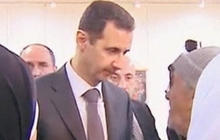 Assad out-and-about amid chemical weapons concerns