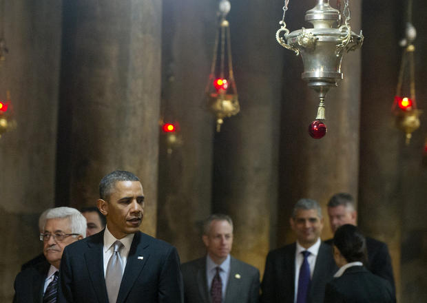 Obama visits the Holy Land