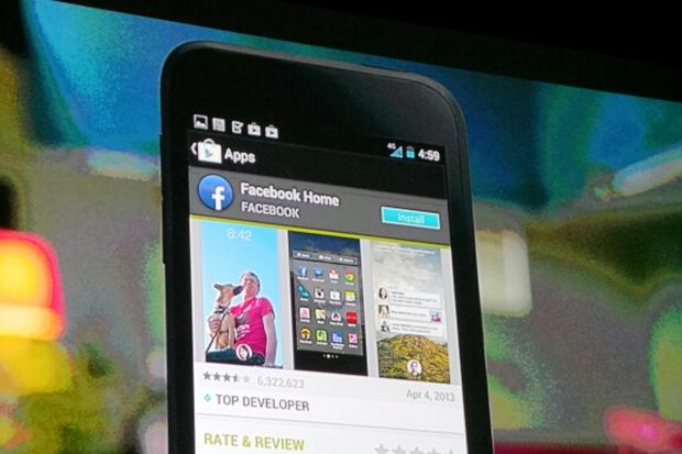 "Facebook announces Android ""Home"""