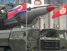 North Korean Musudan, or Taepodong X, intermediate-range missile