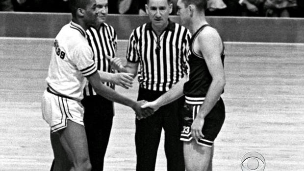 In 1963, a handshake between the captains of Mississippi State and Loyola men's basketball teams changed the game forever.