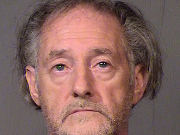 A photo released by the Maricopa County Sheriff's Office shows Eugene Maraventano, 63, who is charged with killing his wife and adult son.