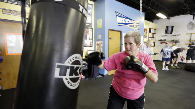 Fighting Parkinson's with boxing