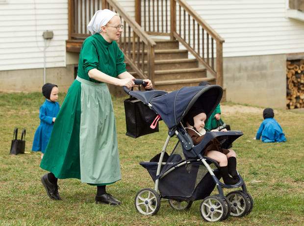 Rare look inside Amish community