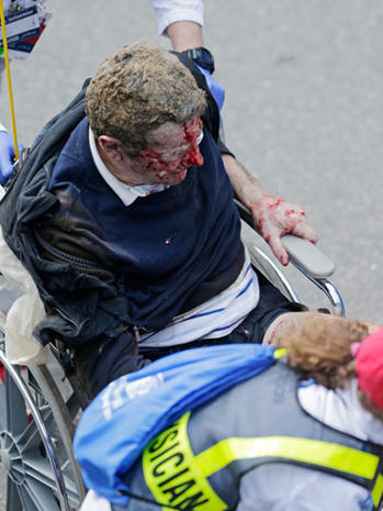 Explosions near Boston Marathon finish line
