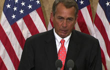 Boehner chokes up at dedication ceremony for Tucson shooting victim