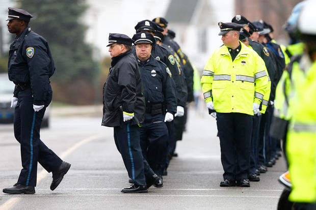 Slain MIT officer remembered