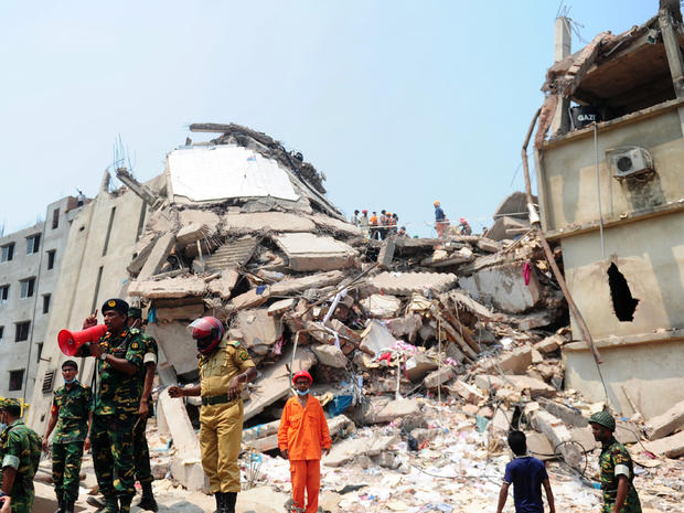 2 arrested following deadly Bangladesh building collapse