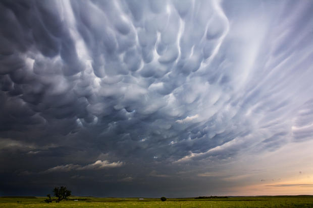Stunning storm clouds