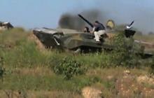 Israel begins an airstrike against Syria