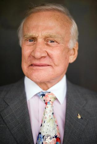 Astronaut Buzz Aldrin