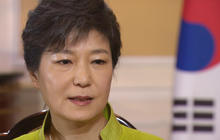 """If attacked by the North, South Korea's president """"will make them pay"""""""