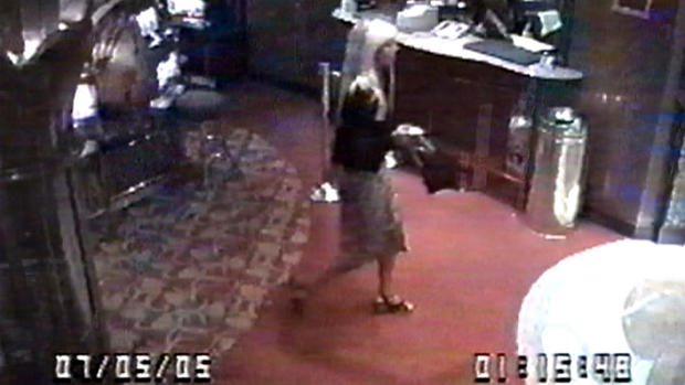 Around midnight on July 5, the couple headed to the casino on the third floor. Casino security cameras captured Jennifer in the casino that night.