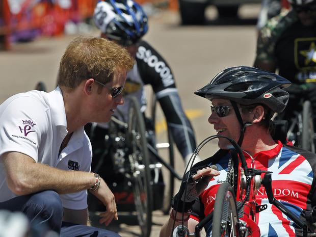 Prince Harry visits Colorado