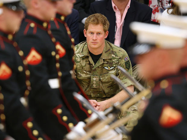 Prince Harry visits Colorado