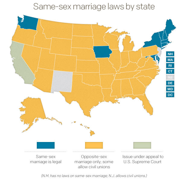 an overview of the legalization of gay marriage in arizona Same-sex marriages: legal issues congressional research service summary the recognition of same-sex marriages generates debate on both the federal and state levels.