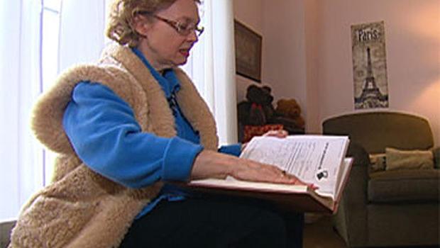 Jan Chorlton Petersen suffers from early onset Alzheimer's.