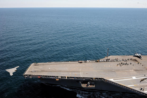 Jet-sized drone launched from Navy carrier
