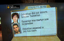 Boston Marathon bombing suspect left note: What did it say?