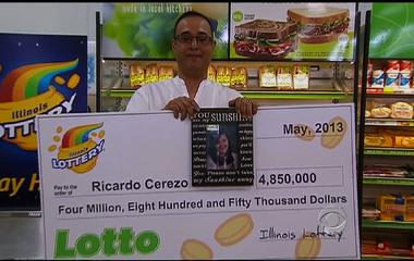 Lucky lotto: How a $4.8 million winning ticket saved a family