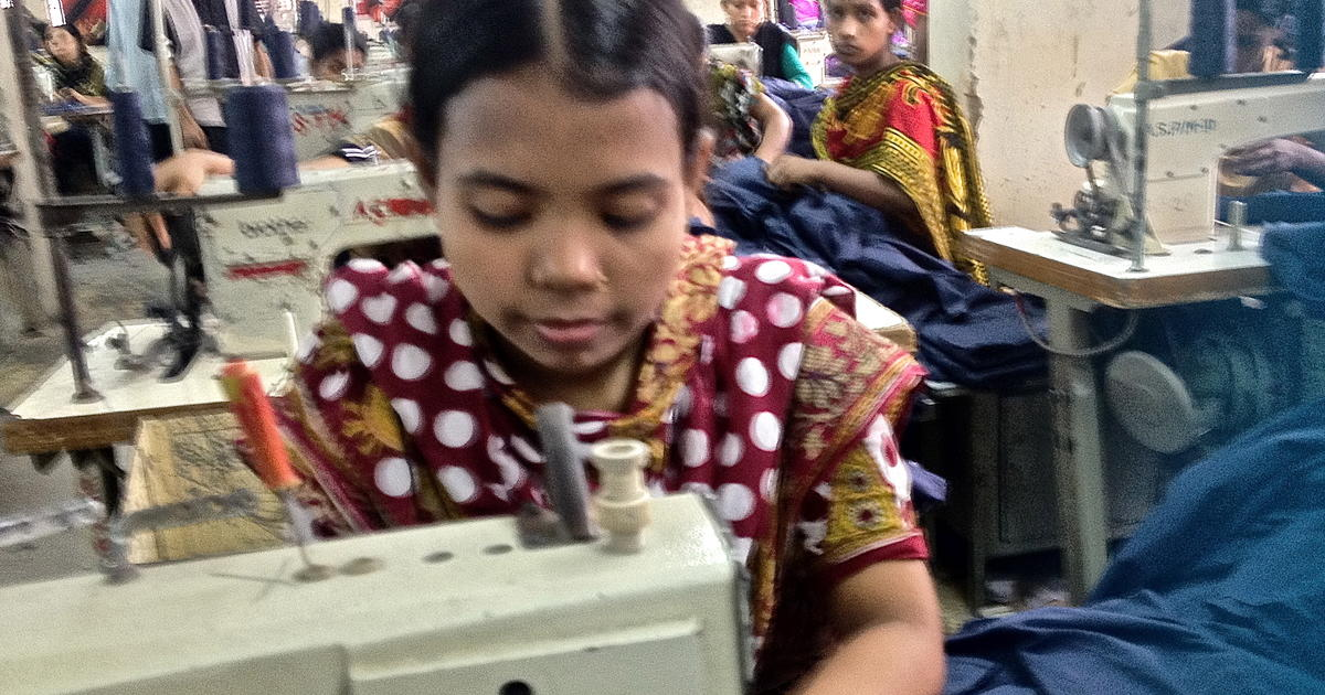 Inside a Bangladesh garment factory - Photo 1 - Pictures - CBS News