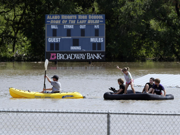 san antonio, flooding, texas