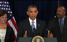 "Obama defends NSA's ""modest encroachments on privacy"""