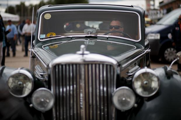Vintage cars celebrated in Spain