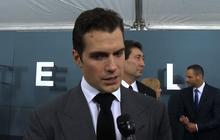 "Henry Cavill, Kevin Costner, Laurence Fishburne talk ""Man of Steel"""