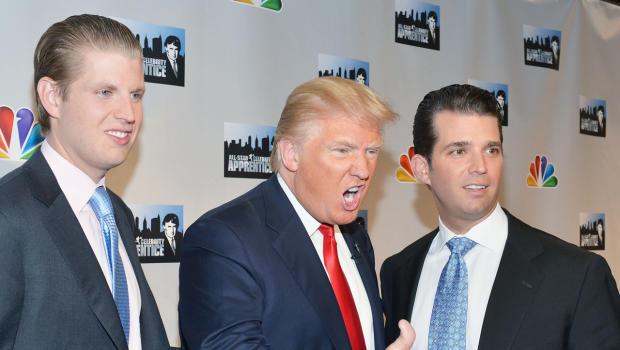 Donald Trump tweets on son's fundraising efforts - CBS News