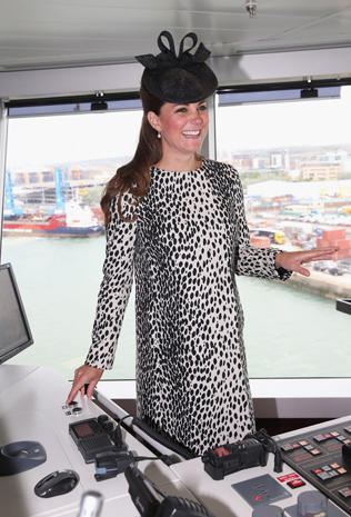 Duchess Kate christens cruise ship