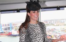 Duchess Kate christens cruise ship