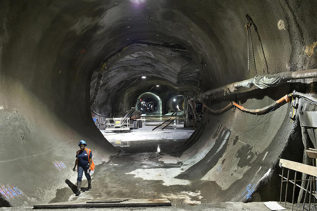 Firsthand look at MTA mega-digs