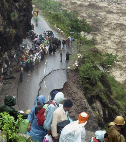Torrential rain devastates Northern India
