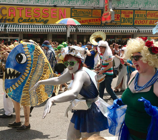 NYC's Mermaid Parade 2013