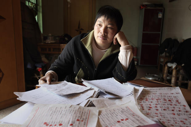 Chinese activist Wei Dongying