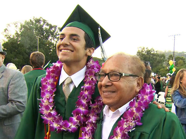 Diego and his parents arranged for Paul Lopez to finally get his high school diploma.