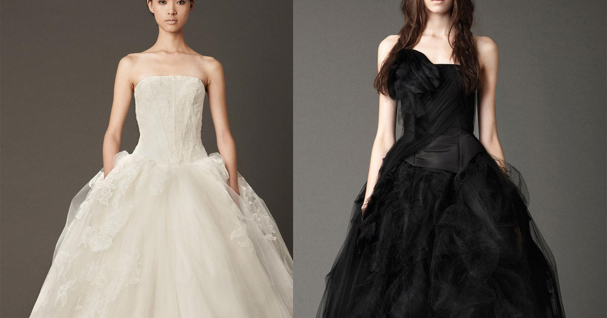 Vera wang bridals in black white photo 1 pictures cbs news junglespirit Images