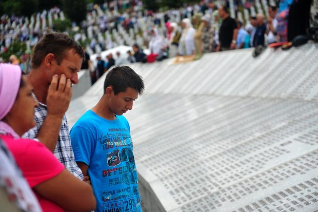 Srebrenica massacre victims remembered