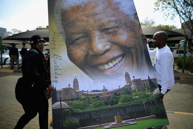 Happy 95th Nelson Mandela