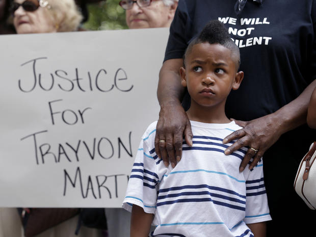 Protesters seek justice for Trayvon Martin