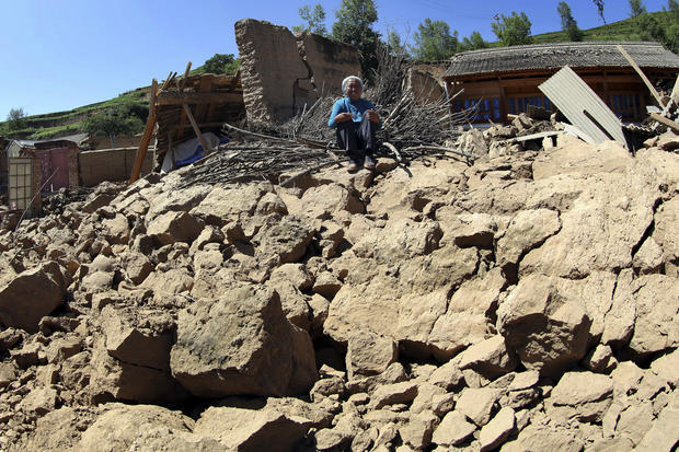 Deadly earthquake in northwest China