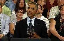 Obama economic themes unchanged on tour of U.S.