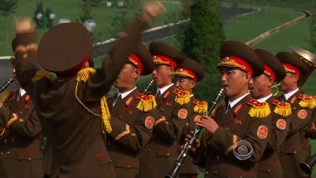 Pomp and circumstance in Pyongyang.