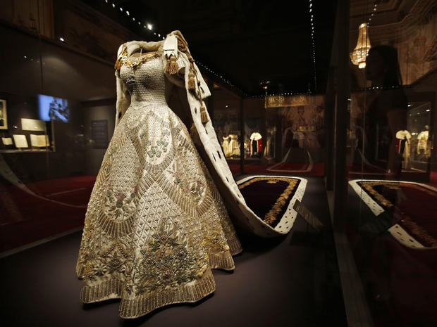 Queen Elizabeth II's coronation regalia on display