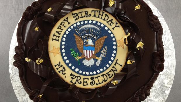 Happy Birthday Democrats Cake