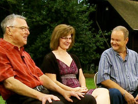 Richard Kern, Julie Stitt and Chuck Stitt discuss the twist of fate that allowed Julie's kidney to save two lives.